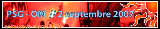 PSG OM 2 septembre 2007