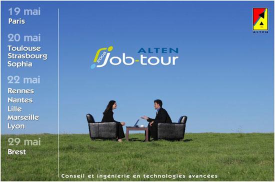 Alten recrute 100 ingénieurs à Marseille