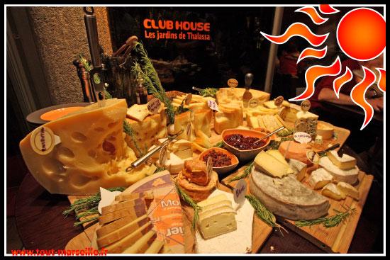 Fantastique buffet de fromage
