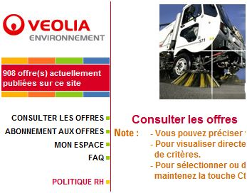 veolia recrute marseille. Black Bedroom Furniture Sets. Home Design Ideas