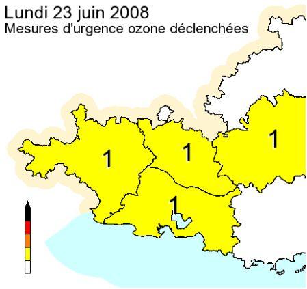 Alerte ozone à Marseille