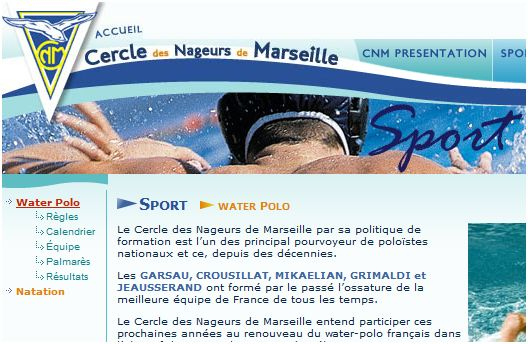 Le Cercle des nageurs à nouveau champion de France