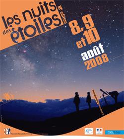 La Niut des étoiles 2008 à marseille martigues et Cuges