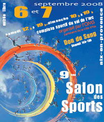 Salon des sports d'Aix en Provence