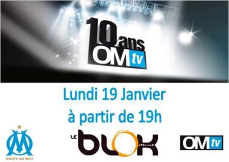10 ans OM Tv