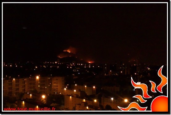 incendie marseille st marcel miramas 10 et 11ème