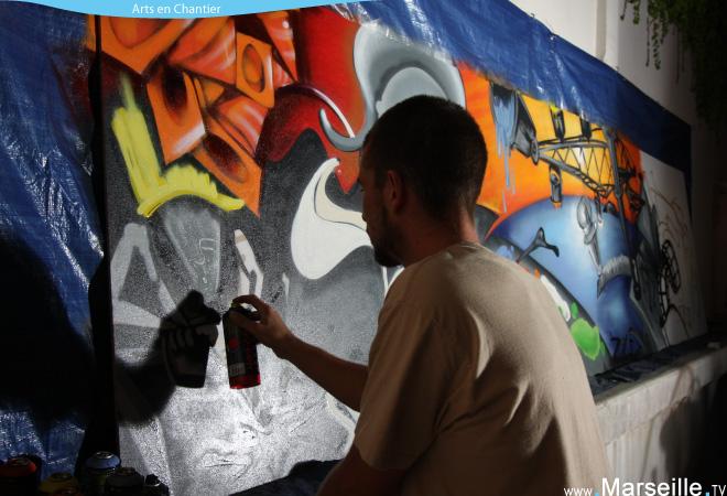 graff art enchantier