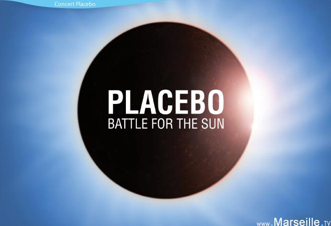 Concert de Placebo à Marseille