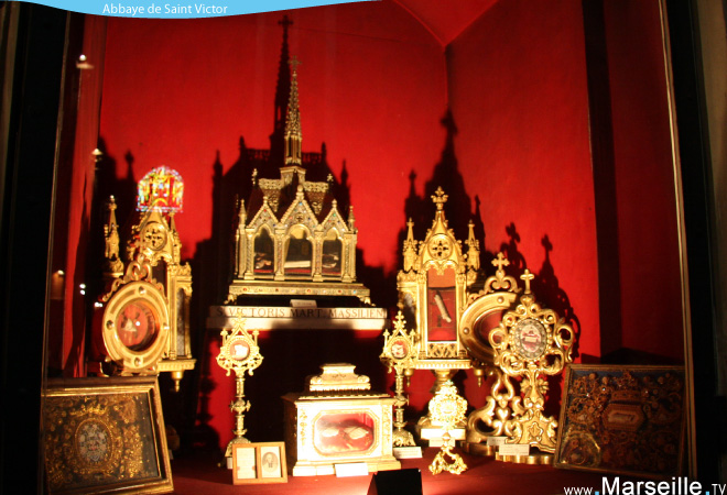 reliques saint victor