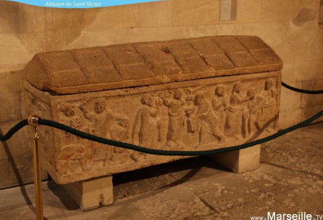 sarcophage saint victor