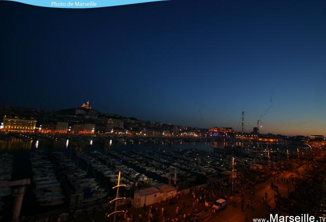 vieux port nuit