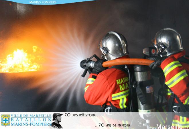 marins pompier marseille