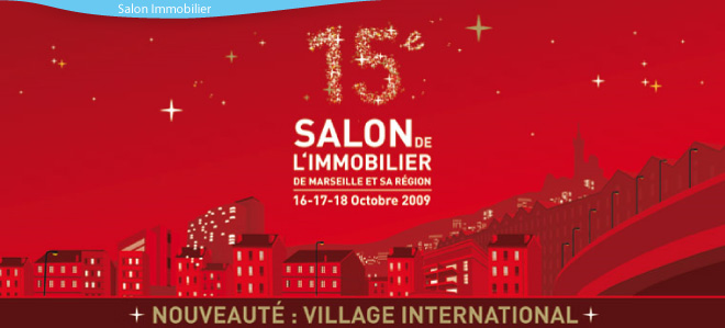 Salon de l immobilier marseille marseille for Salon de l immobilier marseille