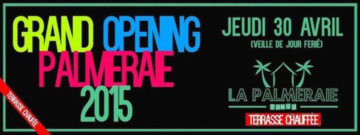 Grand Opening La Palmeraie Marseille