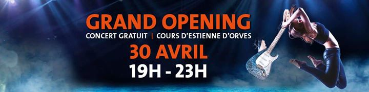 Grand Opening Hard Rock Café Marseille