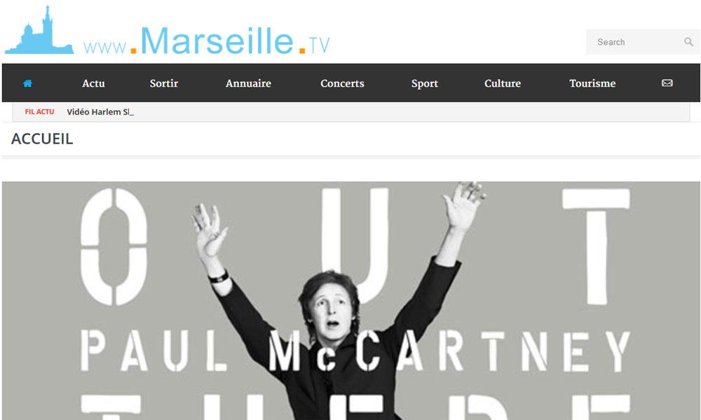 Nouvelle version pour Marseille.tv !