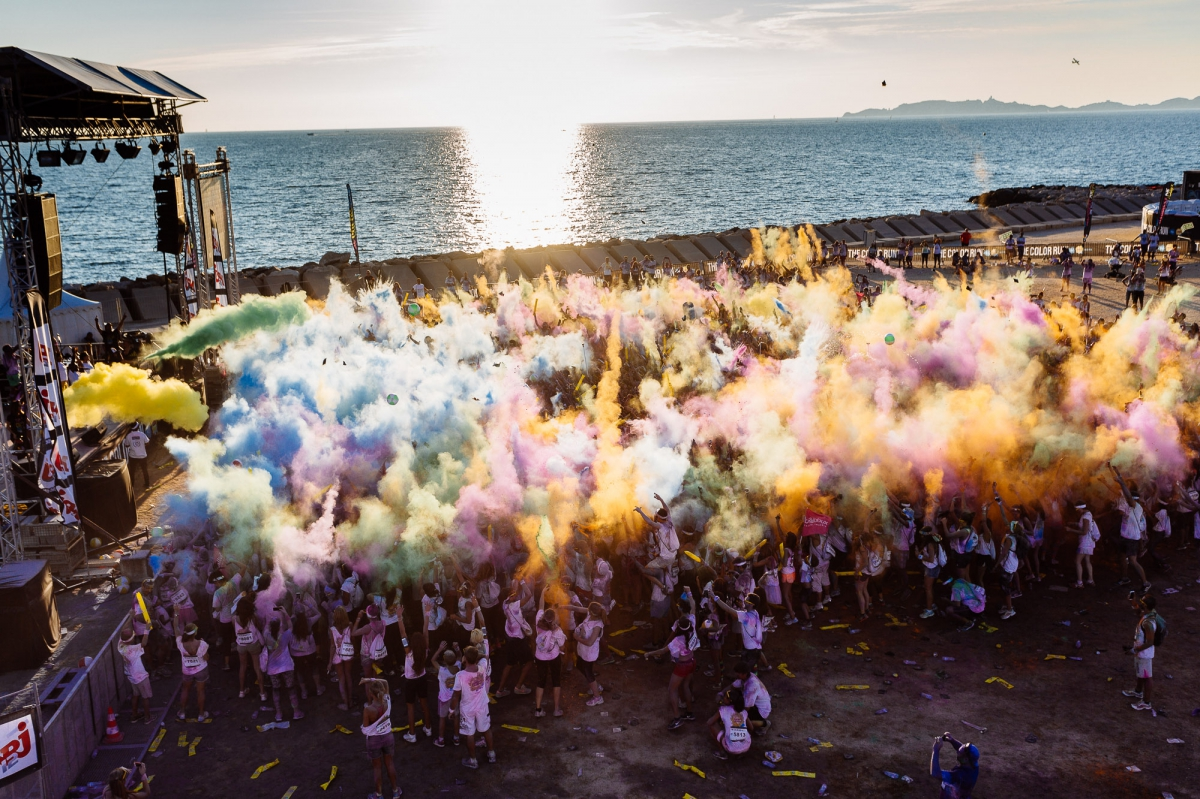 The Color Run Marseille 2015