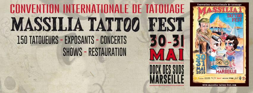 Massilia Tattoo Fest 2015