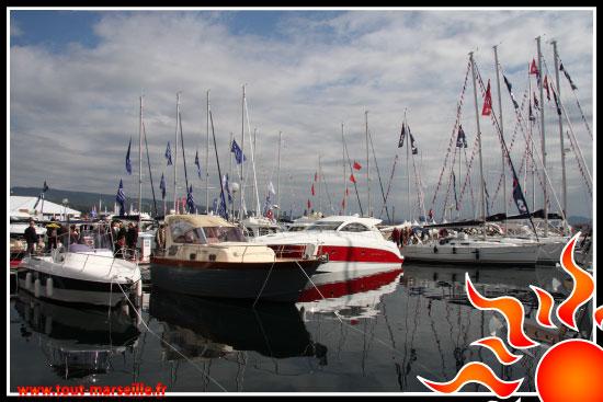 Bateau salon nautique de La Ciotat