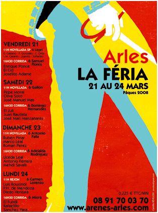 Feria d'arles Paques 2008