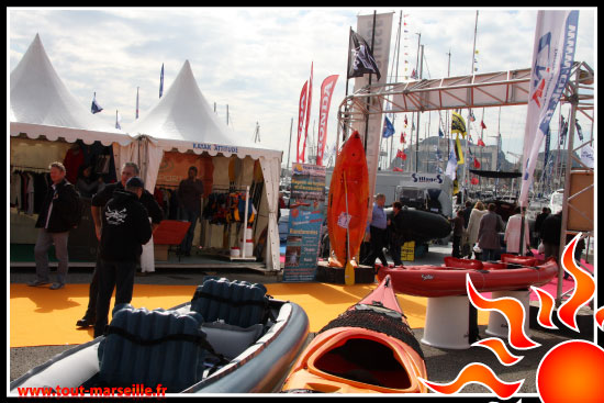Magasin de kayak à Marseille