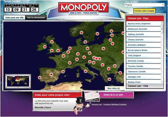 Marseille au monopoly mondial