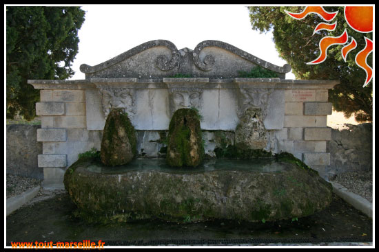 Fontaine Laurent Vibert de Lourmarin