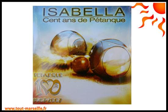 Isabella chanson petanque